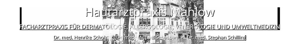 Hautartzpraxis Mahlow – Facharztpraxis für Dermatologie Logo